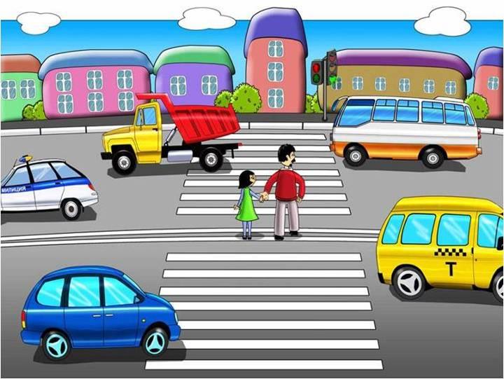 Рисунки на тему дорога и мы 2 класс